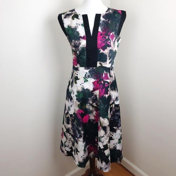 Lafayette 148 New York Dresses & Skirts - Lafayette 148 Dallon Floral Print A-Line Dress 2